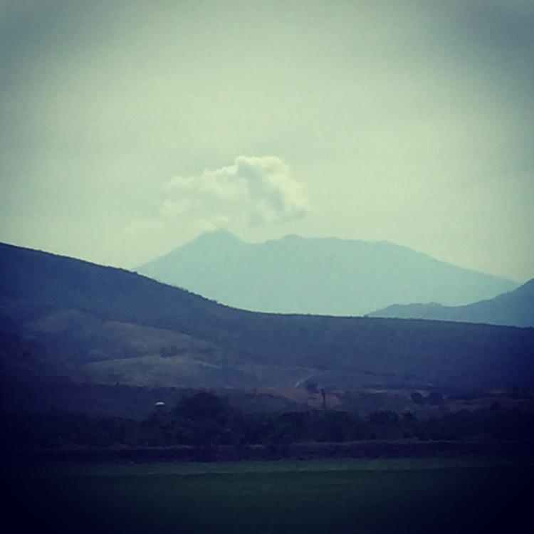 El Volcán de Fuego, Colima Mexico